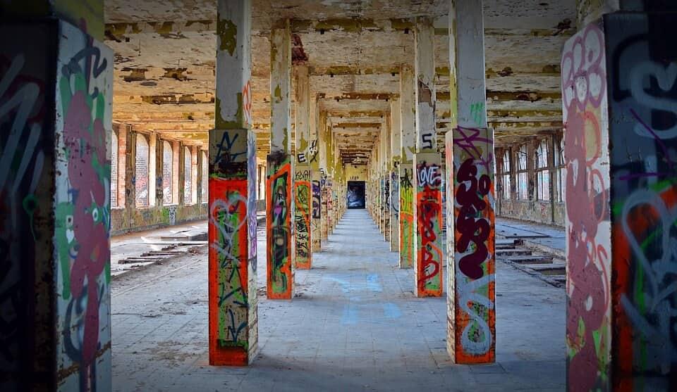Productos para la limpieza de graffitis