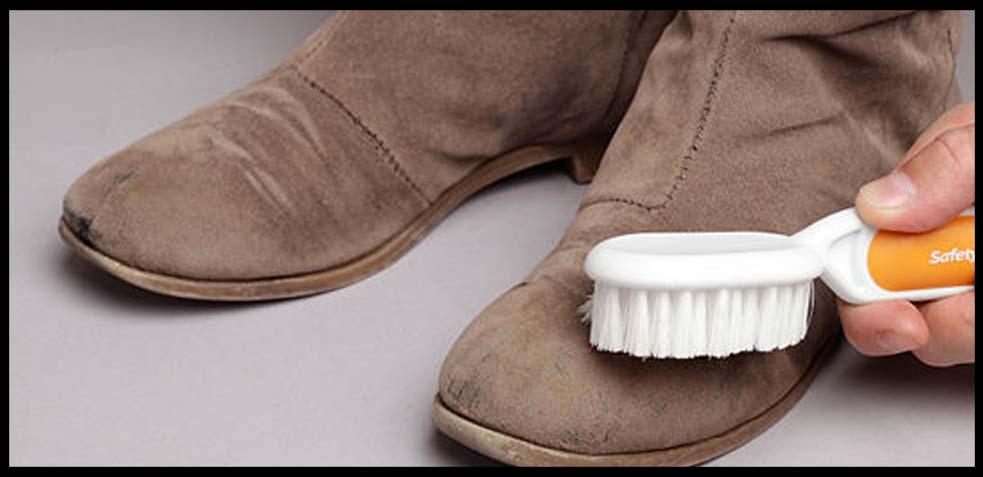 a53fad56 Cómo Limpiar zapatos de ante o como Limpiar Botas de ante