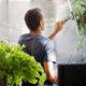Cómo limpiar vidrios y ventanas